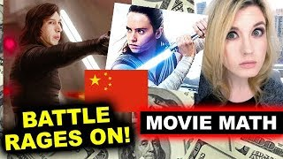 Box Office for The Last Jedi in China, Jumanji, Insidious 4