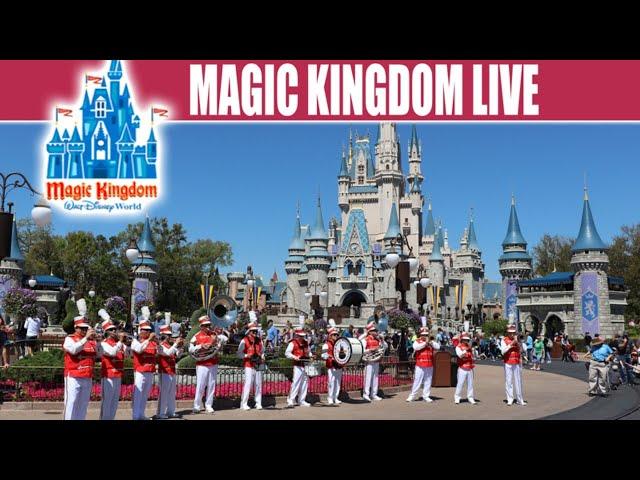 LIVE: Magic Kingdom Walt Disney World Full Tour With Tron Construction