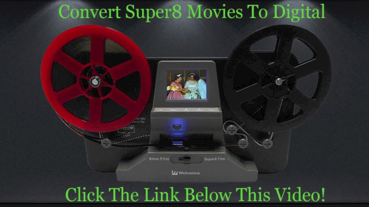 Convert Super8 Movies To Digital At Home Digitize Old 8mm And Films