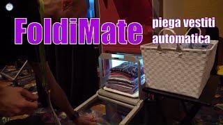 Foldimate, la macchina che piega i vestiti provata al CES