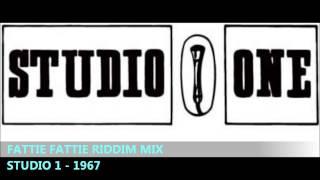 RIDDIM MIX #46 - FATTIE FATTIE - STUDIO 1