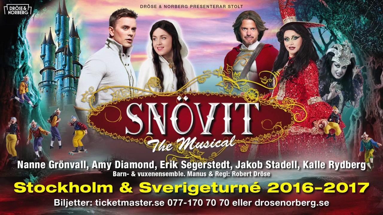 snövit musikal stockholm