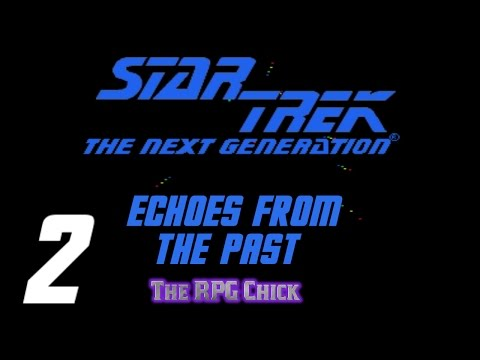 Let's Play Star Trek: TNG - Echoes From The Past (Genesis - Blind), Part 2: Alien Vessel