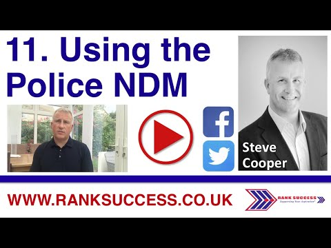 English #Police Video Tweets – Using the NDM as part of your approach to promotion …  #Policepromotion #Leade…
