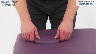 Видео о  Массажный стол Art Of Choice Leo Purple