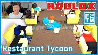 I am the Gordon Ramsay of Roblox Restaurant Tycoon!!! | Fraser2TheMax | Roblox Kid Gamer