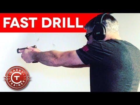 7 Yard Fast Drills with a Glock 19X