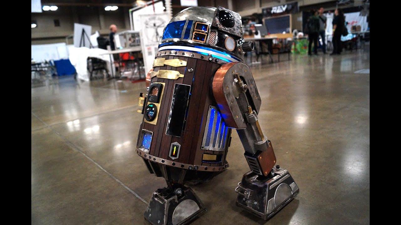 Steampunk R2-D2 Is a Low-Tech Masterpiece