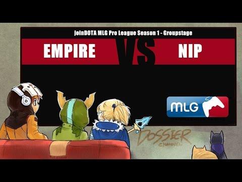 [ Dota2 ] Empire vs NiP - jDOTA MLG Pro League S1 - Thai Caster