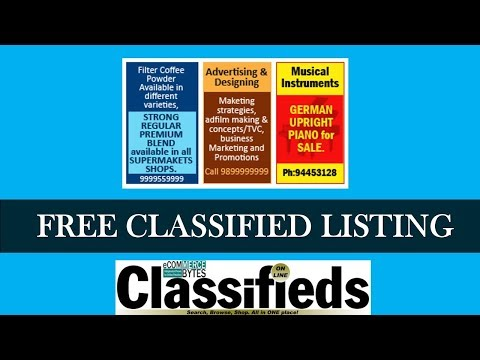 Website Free Classified Ad Listing Technique | Hindi