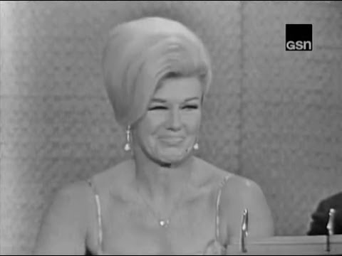 What's My Line? - Ginger Rogers; Alan King [panel] (Aug 5, 1962) - YouTube