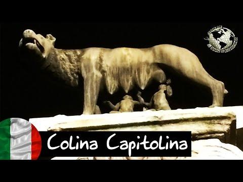 Plaza del Campidoglio o Colina Capitolina. Capitoline Hill, Rome. Roma 2013
