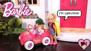 Barbie  Chelsea Runs Away - 24 HOUR Ignoring My Sister Challenge Fail