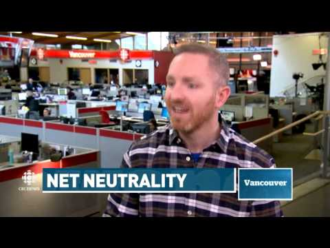 CBC Vancouver - Net Neutrality, Feb 26, 2015