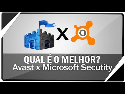 MICROSOFT SECURITY x AVAST - Qual é o melhor antivírus!
