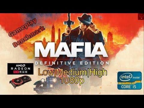Mafia Definitive Edition | Core i5 2500 + RX 560 4gb + 8gb RAM | Low|Med|High| 1080p | Latest Video |