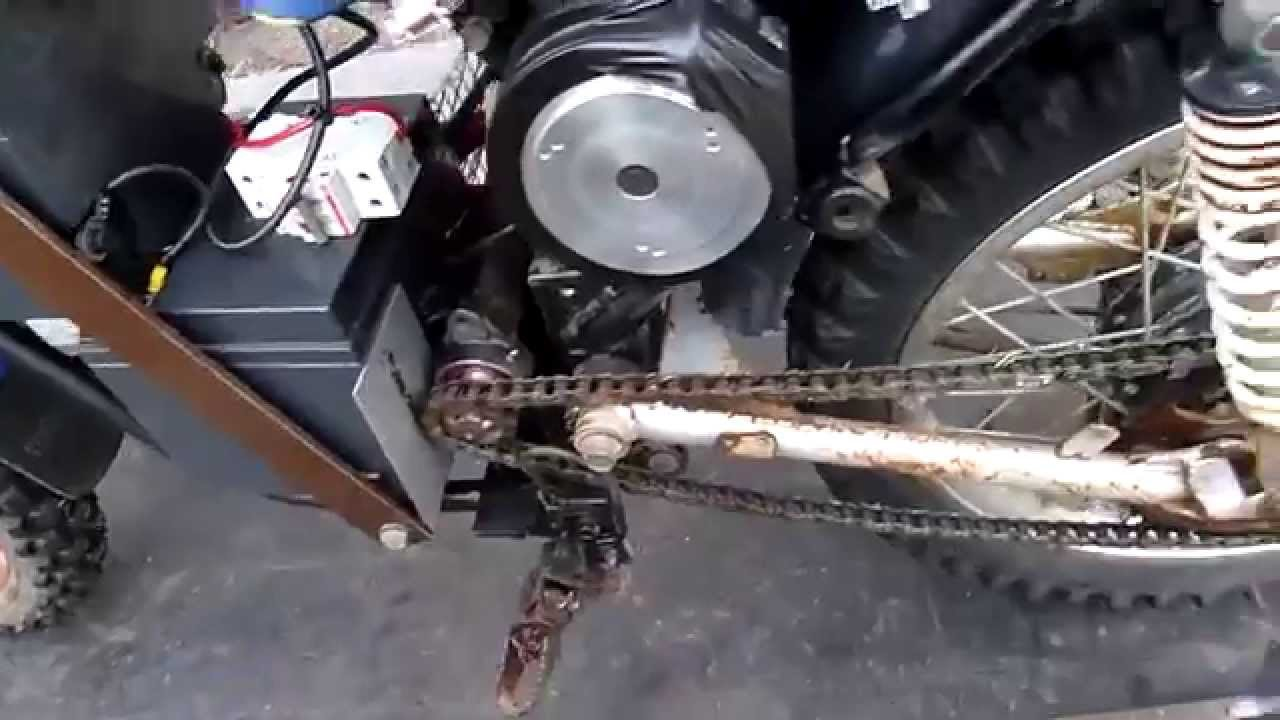 Quick And Dirty 24v Dc Electric Motorcycle Build Doovi