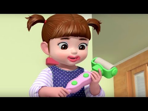 Уборка это весело  - Консуни мультик (серия 49) - Мультфильмы для девочек - Kids Videos