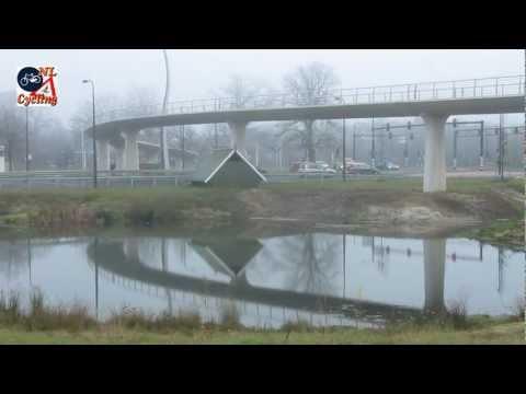 Cycle bridge Auke Vleerstraat, Enschede (Netherlands)