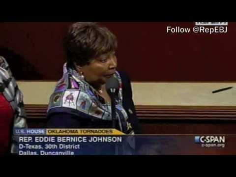Congresswoman Johnson leads Texas Delegation in suport of the Tornado Victims of Oklahoma