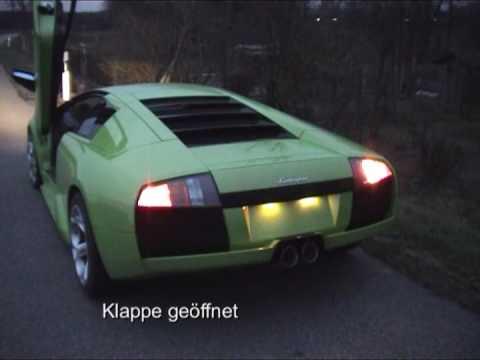 Lamborghini Murcielago Exhaust Sound Youtube