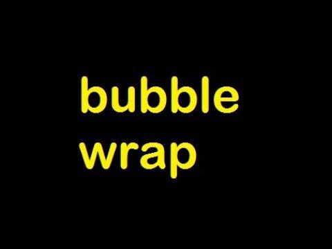 bubble wrapSound Effect