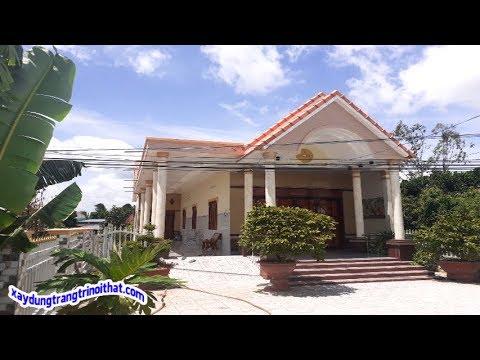 Mẫu Nhà Cấp 4 Mái Thái Theo Kiến Trúc  Biệt Thự MiNi .