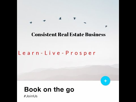 Having a consistent Real Estate Business is easy if?
