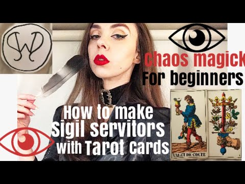 How to make a sigil servitor using tarot cards - Chaos magick for beginners