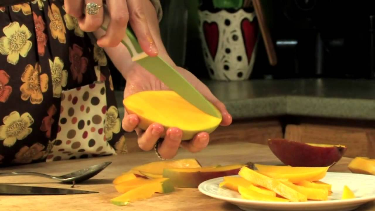 The Best Way To Cut A Mango