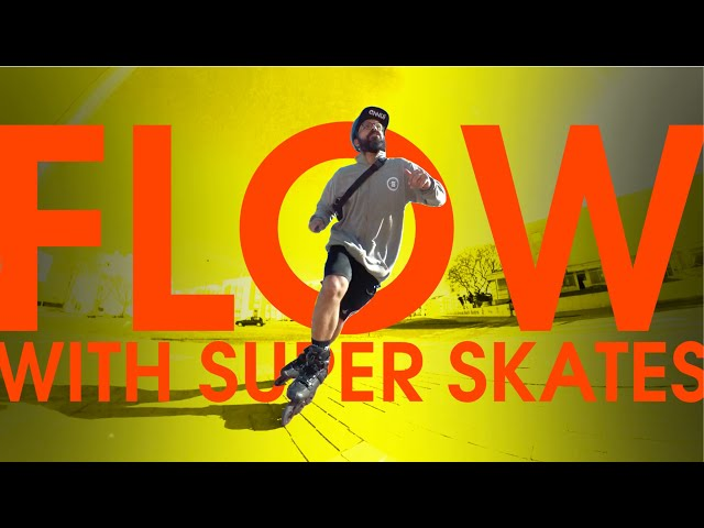 FLOW SKATING WITH MICRO SUPER INLINE SKATES