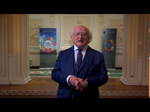 The President of Ireland highlights UCC research