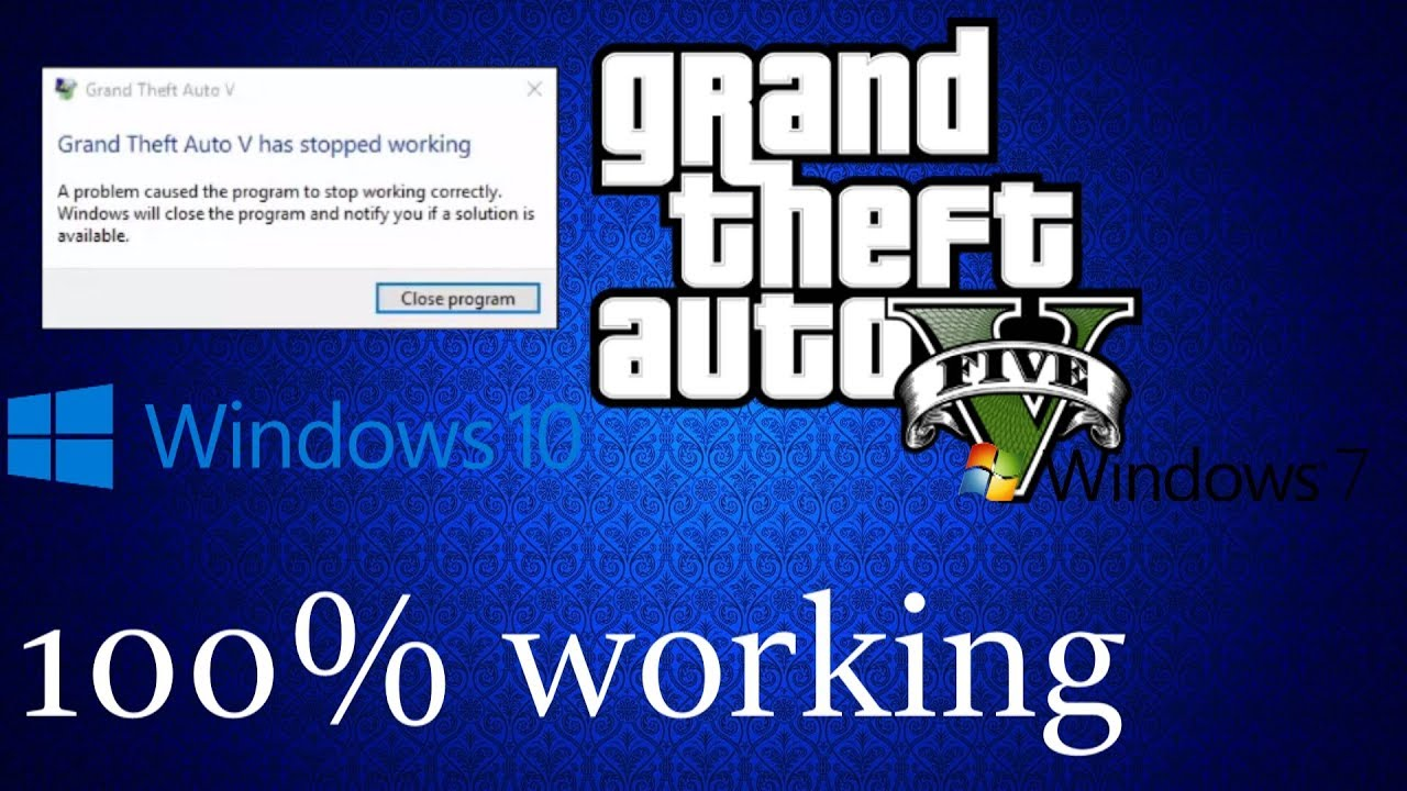 gta v launcher stopped working steam