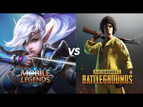 🔴LIVE | Mobile Legend vs PUBG - SIAPA LAGI POPULAR?? - ( ML & PUBG Malaysia )