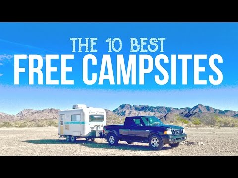 Top 10 Free Campsites 😀 | Boondocking & Dry Camping | How to Camp for Free