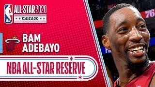 Bam Adebayo 2020 All-Star Reserve   2019-20 NBA Season