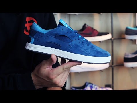 Nike SB Koston Huarache Skate Shoes Review - Tactics.com