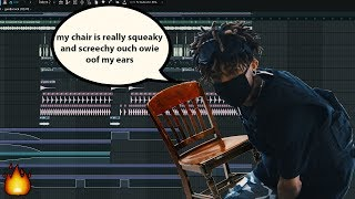 Sampling SCARLXRD's Squeaky Chair In A Beat - FL Studio 20