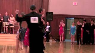Austin Open Ballroom Dance Competition 2015/ Latin