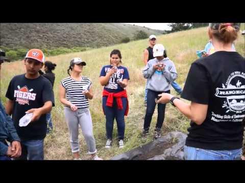 Range Camp 2015: Soils activity