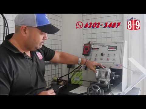 Banco De Prueba Altenadores Y Motor De Arranque Youtube