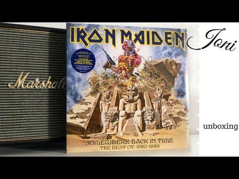 Iron Maiden Somewhere Back In Time The Best Of 80-89 // Vinyl LP // Schallplatte Unboxing / Joni