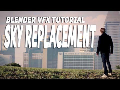 Blender VFX Masking Tutorial: Sky Replacement.