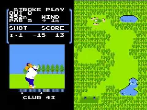 任天堂fc_ファミコンのゴルフゲームで-40 - YouTube