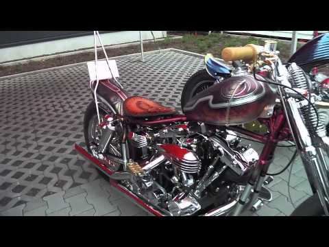 Custom Chrome Europe BOAR Bikes at Grolsheim Germany Dealer