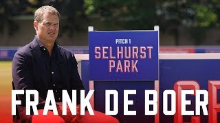 Frank de Boer | First Interview as Crystal Palace Manager