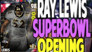 OMG RAY LEWIS!! WE GOT A LEGEND | MADDEN 16 ULTIMATE TEAM PACK OPENING