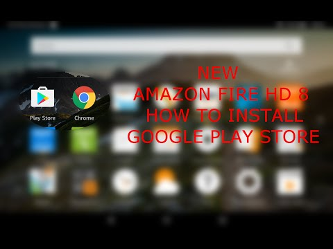 Amazon Fire HD 8 2017: Come installare il Google Play Store