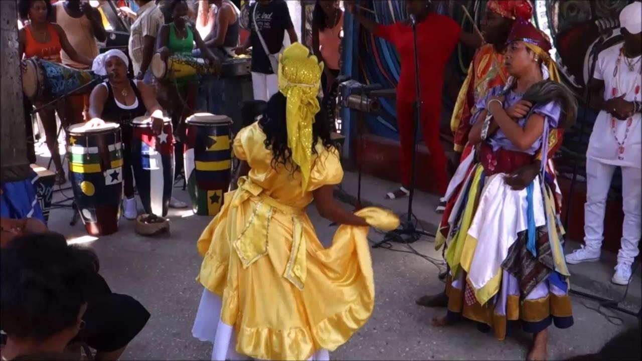 Yemaya, Oya, Oshun, Shango @ Callejon de Hamel, la Habana 2016