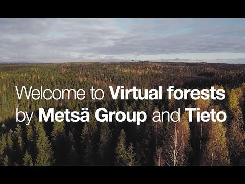 Welcome to the virtual forest by Metsä and Tieto